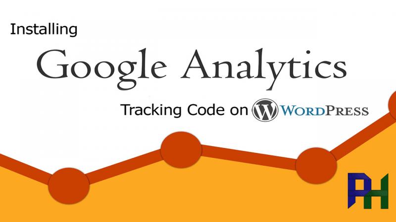 Installing Google Analytics tracking code on WordPress