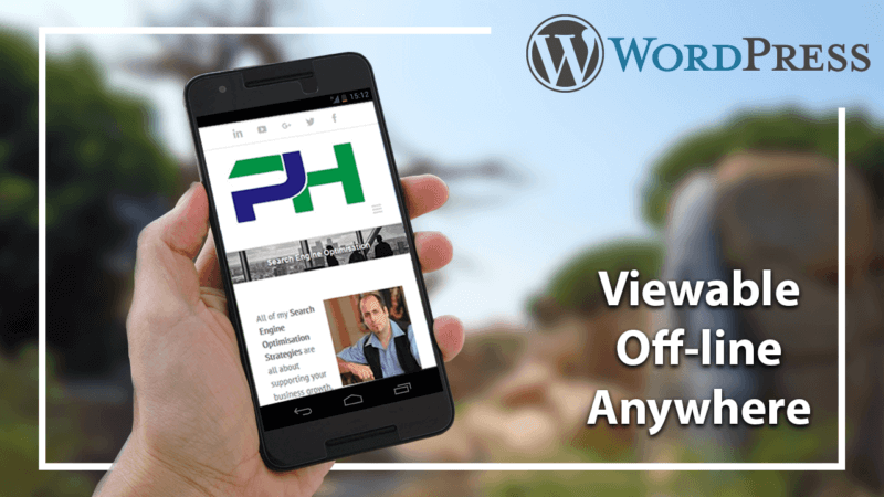 WordPress Viewable Offline Anywhere